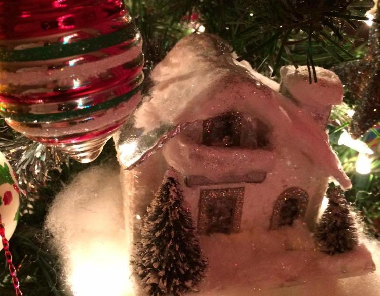 chalet ornament