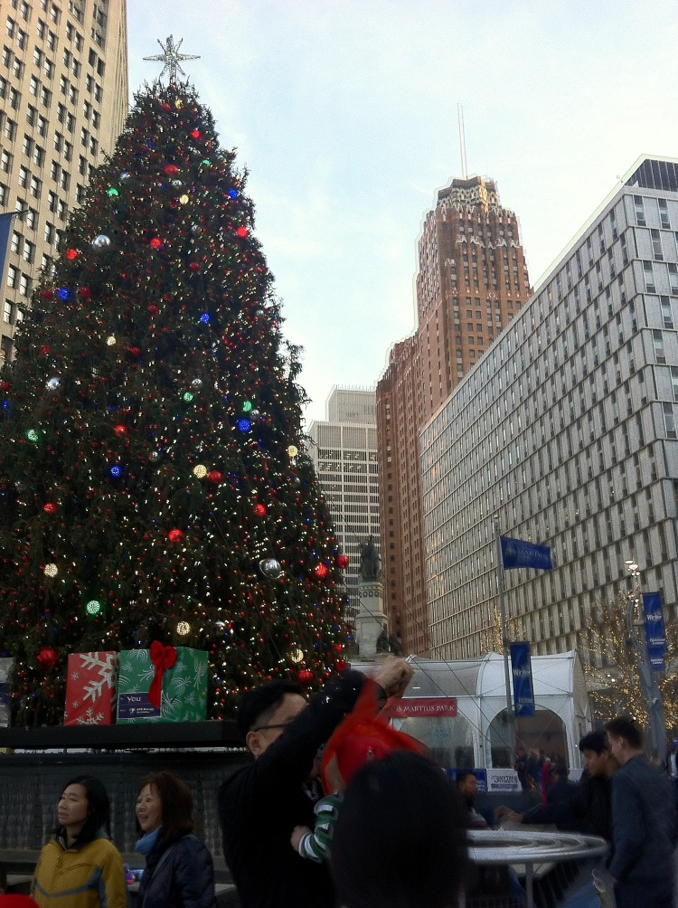 Detroit Christmas Tree