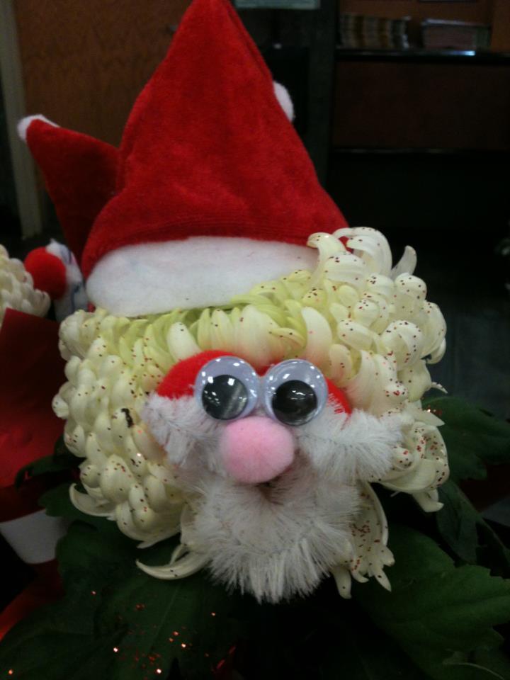 Santa mum