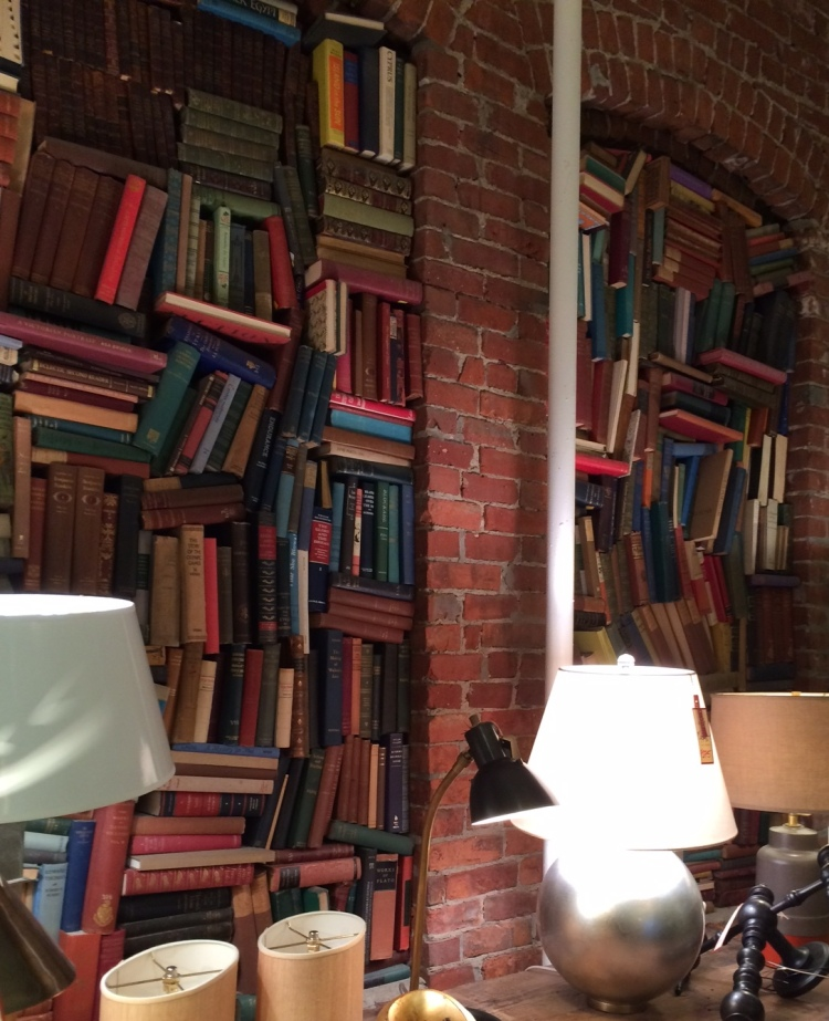 hudson bookwall
