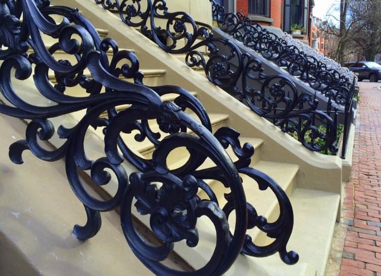 wrought iron rails