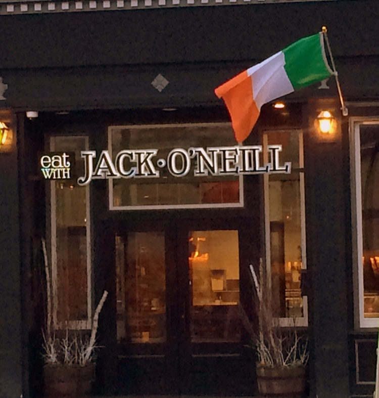Eat with Jack 0'Neill, West Roxbury, MA