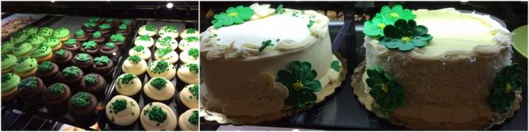 St. Patrick's Day dessert
