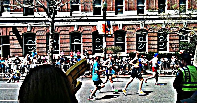 boston marathon runners 2012