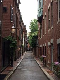 Beacon Hill alley