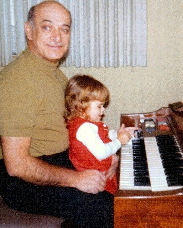 Playing a tune with Grandpa1970