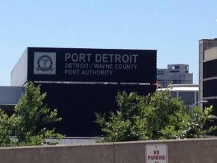 I never really think of Detroit as being a port.