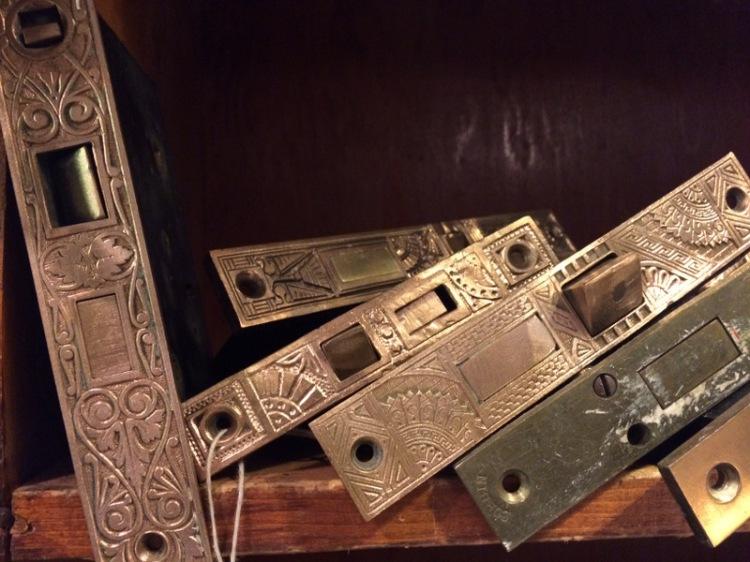 Victorian door hardware