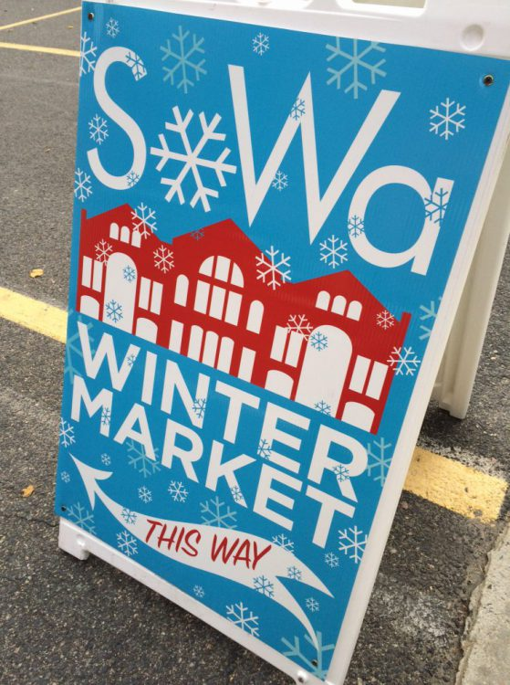SoWa Winter Market Sign
