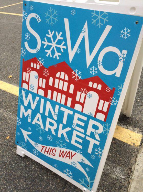 SoWa Winter Market Sign