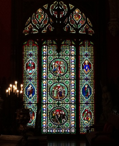 Marble House stained glass window-001